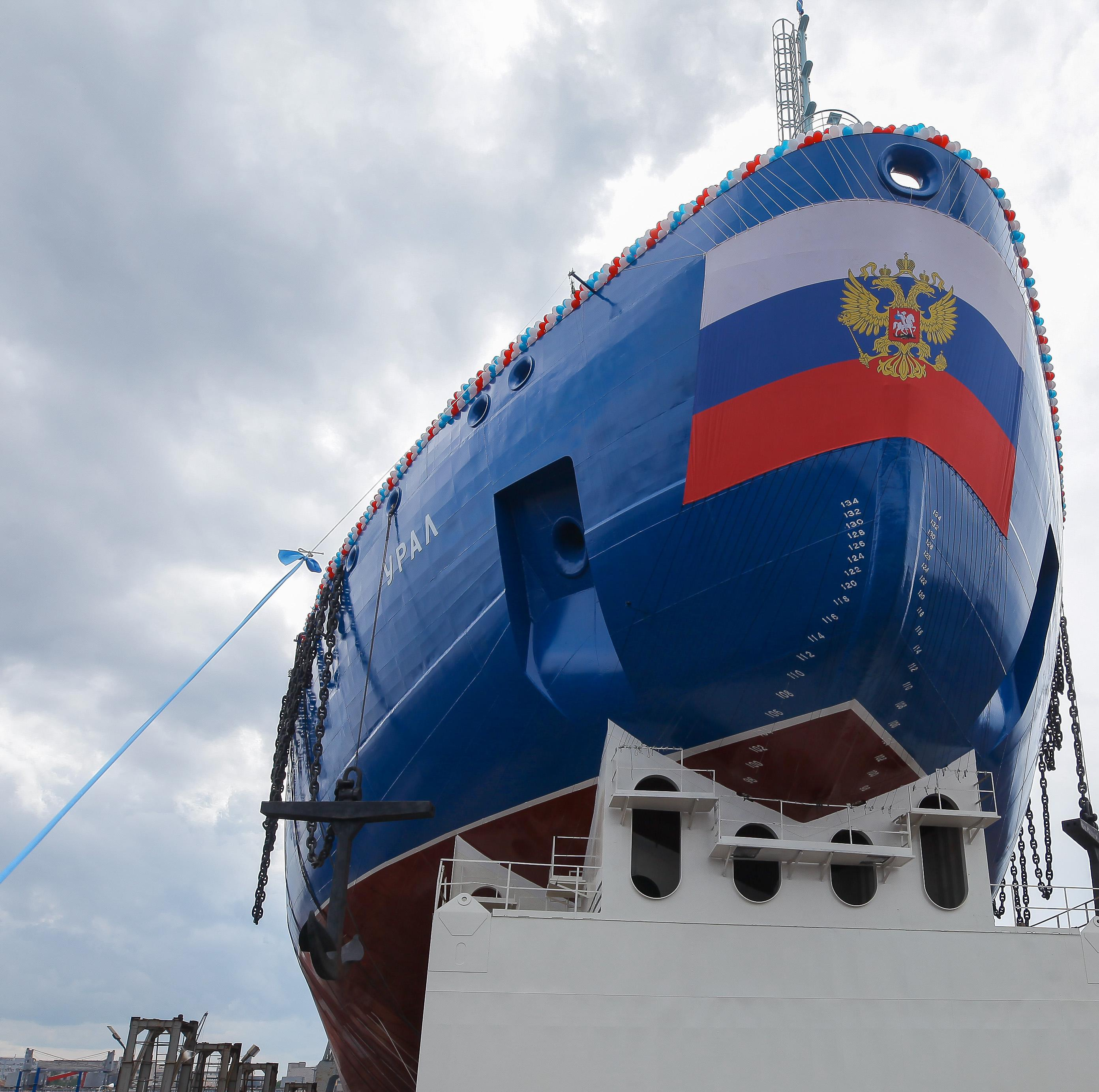 Expanded nuclear-powered icebreaker fleet boosts Northern Sea Route shipping