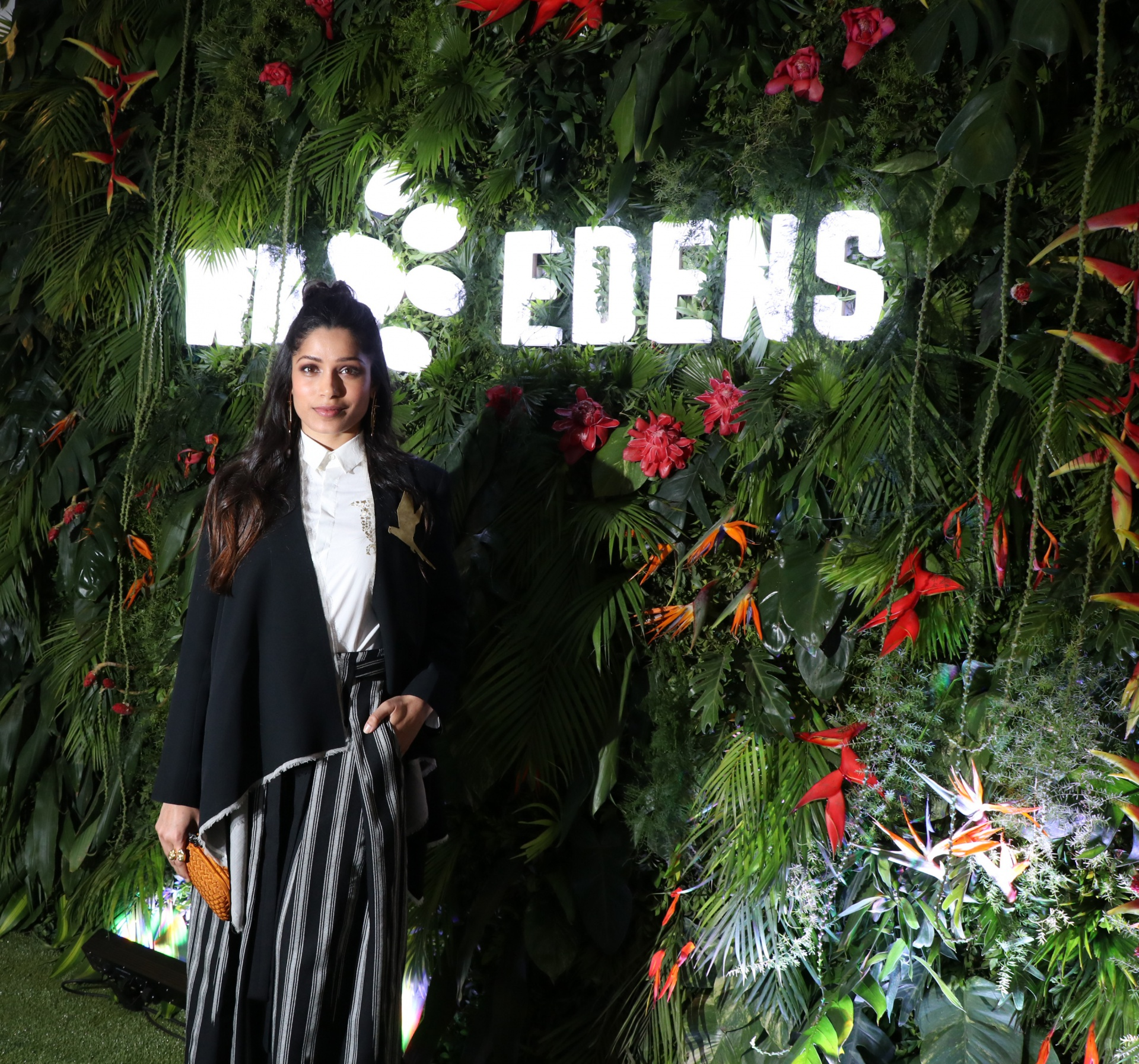 2003_Wild Edens project Ambassador, actress and activist Freida Pinto at the premeire screening of 'Wild Edens_ South Asia' Documentary.jpg